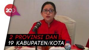 Daftar Lengkap Calon Kepala Daerah PDIP Gelombang 5