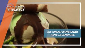 Zangrandi, Legenda Es Krim Italia ala Surabaya Sejak 1930an