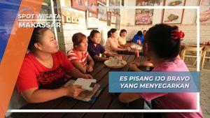 Es Pisang Ijo Bravo, Legenda Dingin Makassar