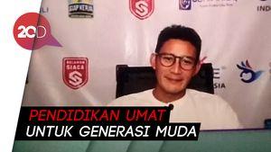 Sandiaga Uno Sambut Positif Peluncuran E-Learning Muslim Pertama di Indonesia