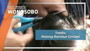 Tradisi Potong Rambut Gimbal Dusun Saren Desa Gondowulan Wonosobo