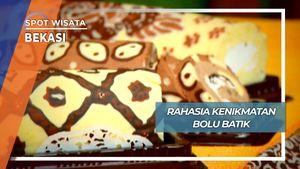 Bolu Gulung Batik, Menikmati Batik Cara Bekasi