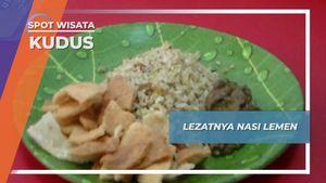Nasi Lemen, Kuliner Kepiting Sawah asal Kudus