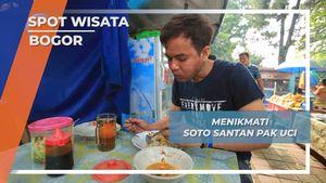 Soto Santan Pak Uci, Nikmatnya Sarapan Pasar Anyar Bogor