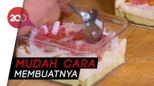 Masak Masak: Resep Dessert Box Roti Tawar Isi Es Teler