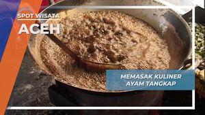 Memasak Kuliner Ayam Tangkap, Aceh