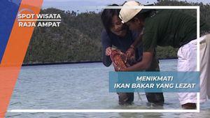 Ikan Tongkol Bakar dan Mie Instant, Lezat Tiada Dusta di Wayag Raja Ampat