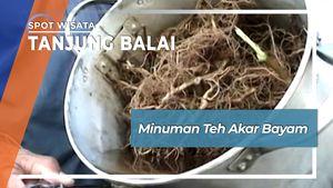 Cara Menyeruput Teh Akar Bayam ala Pensiunan Kapten Kapal Tanjung Balai Sumatera Utara