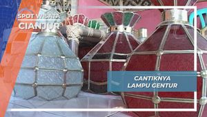 Lampu Gentur, Kerajinan dengan Kretivitas Tinggi Warga Kampung Gentur Cianjur
