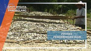 Proses Pengeringan Ikan Asin Bebas Formalin, Pandeglang