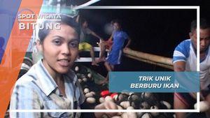 Jaring Raksasa Ditarik Otot Kawat Bertulang Besi, Kehandalan Nelayan Bitung Sulawesi Utara