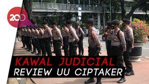 Bakal Ada Demo Buruh, Polisi Berjaga di Medan Merdeka Barat