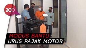 Gelapkan Motor Kekasih, Pecatan Polisi di Pinrang Ditangkap