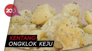 Tips Bikin Kentang Ongklok Keju, Cocok Buat Pelengkap Steak