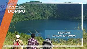 Gunung Api Purba Pembentuk Danau Satonda Dompu Nusa Tenggara