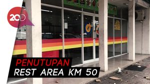 Pedagang Kecewa Rest Area Km 50 Tol Japek Disebut Biang Kemacetan