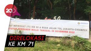 Rest Area Km 50 Tol Japek Kini Tinggal Kenangan