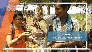 Berbibir Merah Berparang, Budaya Berniaga Pasar Hobakala Sumba Barat