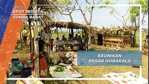 Pasar Hobakala, Berniaga di Tengah Padang Sabana Sumba Barat