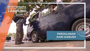 Dari Hanura, Angkutan Mini Bus Bonus Pemandangan Pesisir Pantai Lampung