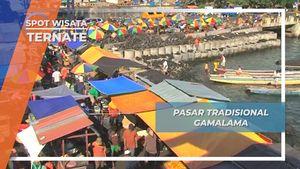 Pasar Tradisional Gamalama, Pasar Serba Ada di Tepi Gunung Gamalama, Ternate