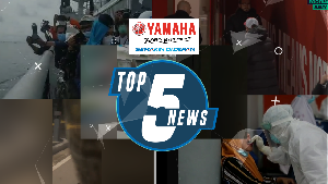 Top 5: Haru Tabur Bunga di Pulau Lancang, Sejoli Mesum di Halte Bus