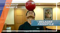 Freestyle Soccer, Belajar Bagi Pemula Jakarta