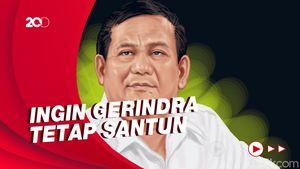 Prabowo Tegaskan Rival Politik Bukan Musuh Politik