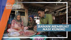 Nasi Kuning, Budaya Kuliner Hidup Rukun Bertetanggga di Banjarmasin