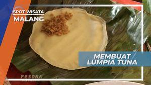 Lumpia Berbahan Dasar Ikan Tuna, Malang