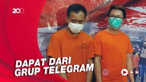 Polisi Bekuk Dua Tersangka Penyebar Video Syur Diduga Milik Artis GL