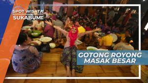 Masak Besar Satu Desa Untuk Merayakan Upacara Mipit, Sukabumi
