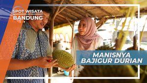 Mengunjungi Warung Dengan Menu Serba Durian, Bandung