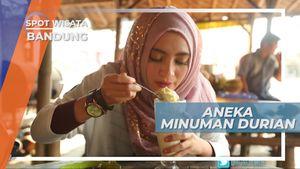 Aneka Minuman Berbahan Dasar Durian, Bandung