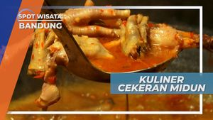 Ceker Ayam Pedas Penggoyang Lidah yang Populer di Kota Kembang