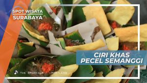 Ditumbuk Bersama Kentang dan Ubi, ini Ciri Khas Pecel Semanggi, Surabaya