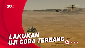 NASA Kenalkan Ingenuity, Helikopter Penjelajah Planet Mars