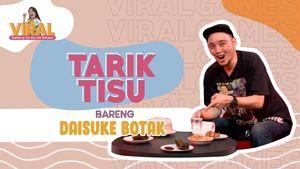 Daisuke Botak Makan Pete, Jengkol, dan Ceker Ayam di Games Tarik Tisu