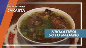 Kelezatan Semangkuk Soto Padang Mangkuto Penggoyang Lidah, Jakarta
