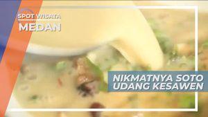 Kesegaran Kuah Santan Soto Udang, Kuliner Khas Kota Medan