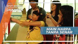 Harpa Tanpa Senar, Teknologi Unik di Taman Mini Indonesia Indah Jakarta