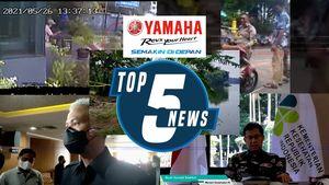 Top 5: Rekaman CCTV Pelaku Pembunuhan Wanita, Ganjar Tepis Konflik dengan Puan