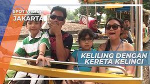 Kereta Kelinci, Mengantar Berkeliling Taman Mini Indonesia Indah Jakarta