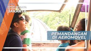 Aeromovel, Kereta Angin yang Mengantar Kita Melayang Mengelilingi Taman Mini Jakarta