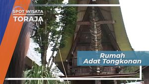 Rumah Adat Tongkonan, Desa Tonga Riu Tana Toraja Sulawesi Selatan