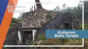 Berbentuk Seperti Mata Manusia, Kubur Batu Lokomata Tana Toraja Sulawesi Selatan