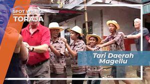 Tarian Magellu, Tari Gembira Penyambut Tamu Tana Toraja Sulawesi Selatan