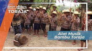 Alunan Musik Bambu Tana Toraja Sulawesi Selatan