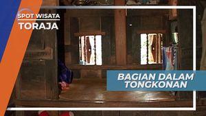 Pembagian Ruang Rumah Adat Tongkonan Tana Toraja Sulawesi Selatan