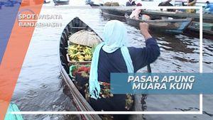 Pasar Terapung Muara Kuin, Pasar Tradisional Sungai Barito Banjarmasin